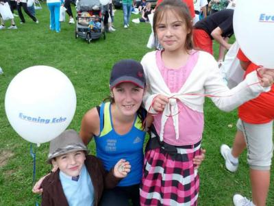 Running the mini-marathon helped me through life challenges