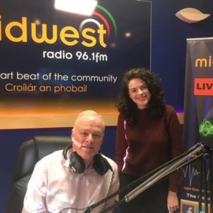 Grainne Fahy at Midwest Radio